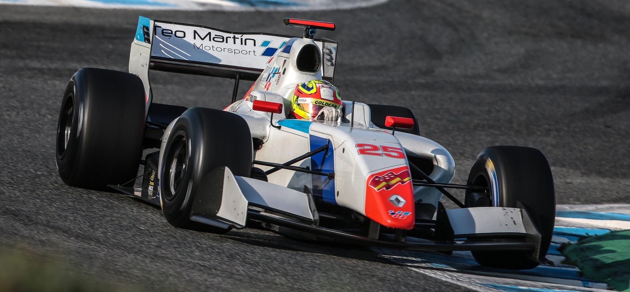 Álex Palou Teo Martín Test Jerez 2016