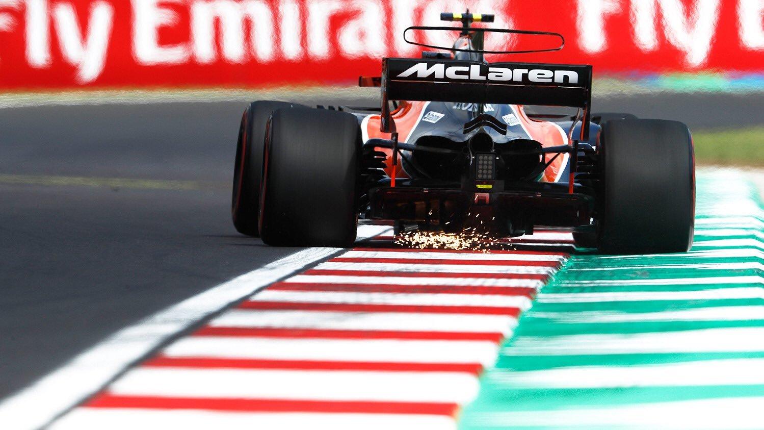 McLaren Hungaroring 2017