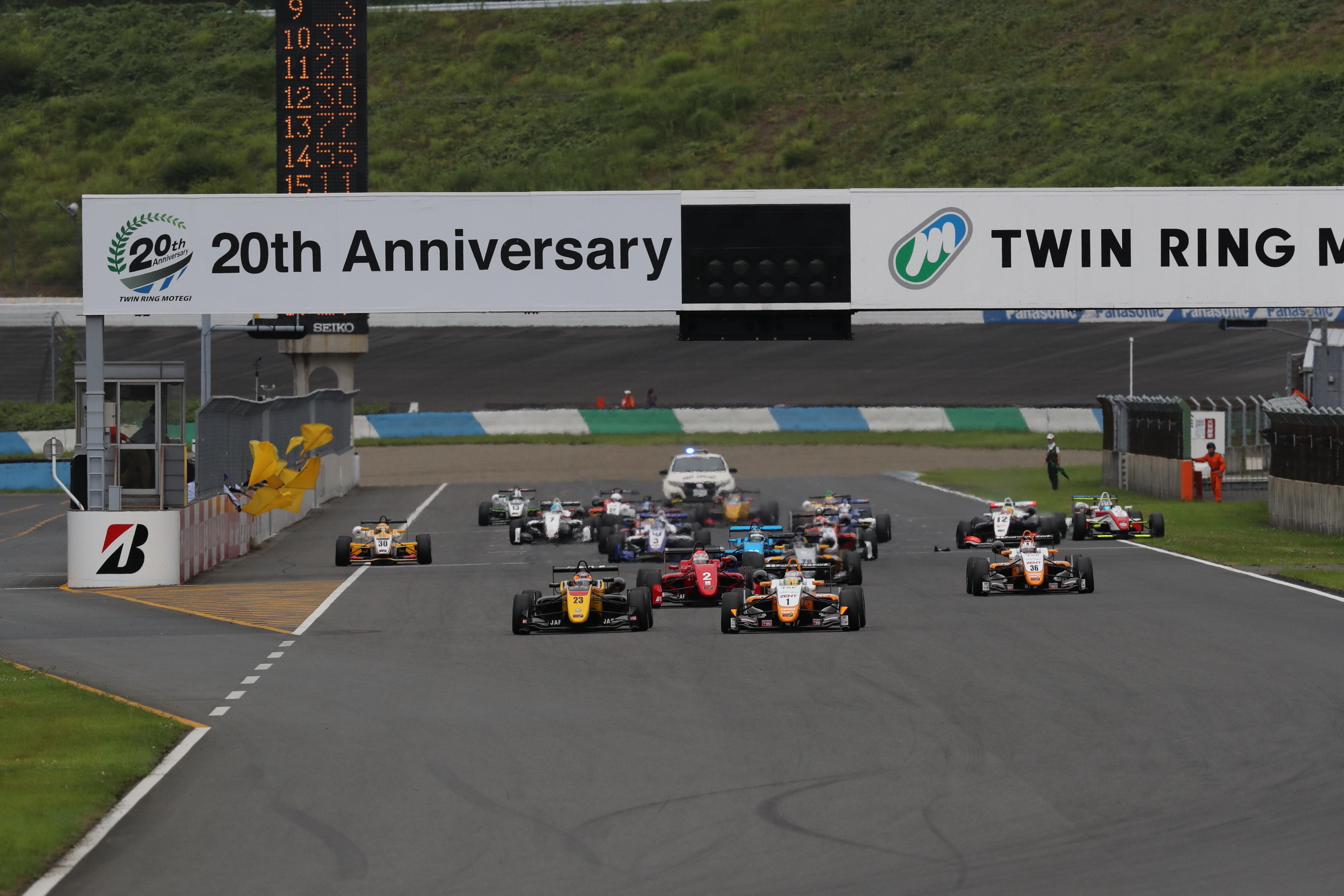 Salida F3 Japón Motegi 2017