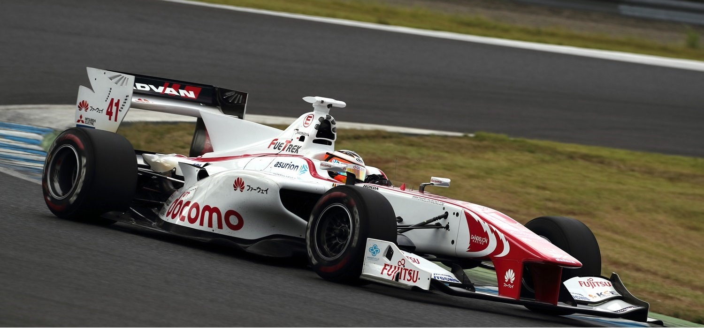 Stoffel Vandoorne Motegi 2016 Super Formula Yokohama
