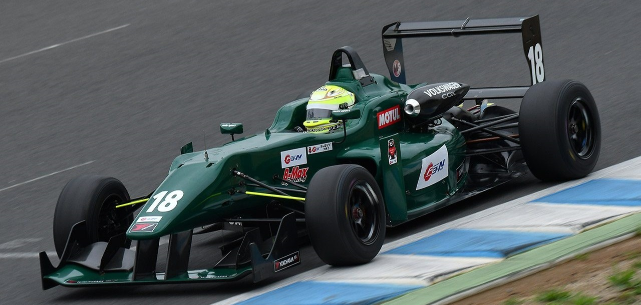 Yuhi Sekiguchi Test F312-N Motegi 2017