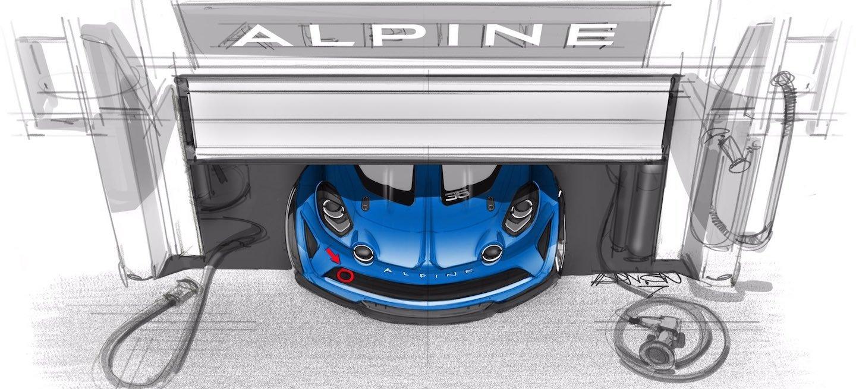 Alpine A110 Cup 2017