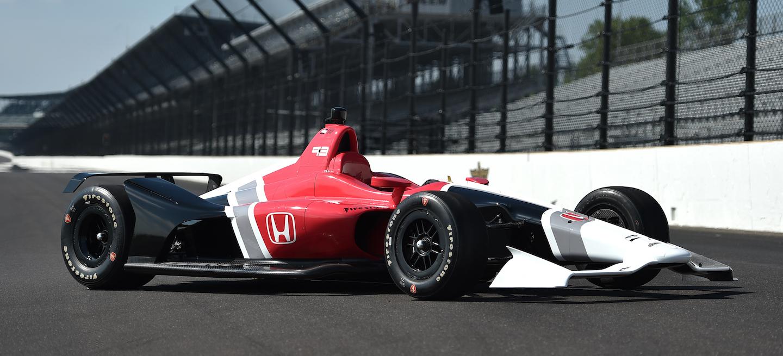 IndyCar 2018 Test Honda