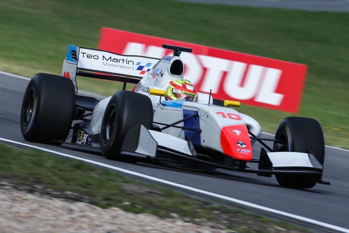 Álex Palou Nürburgring 2017 Fórmula V8 3.5