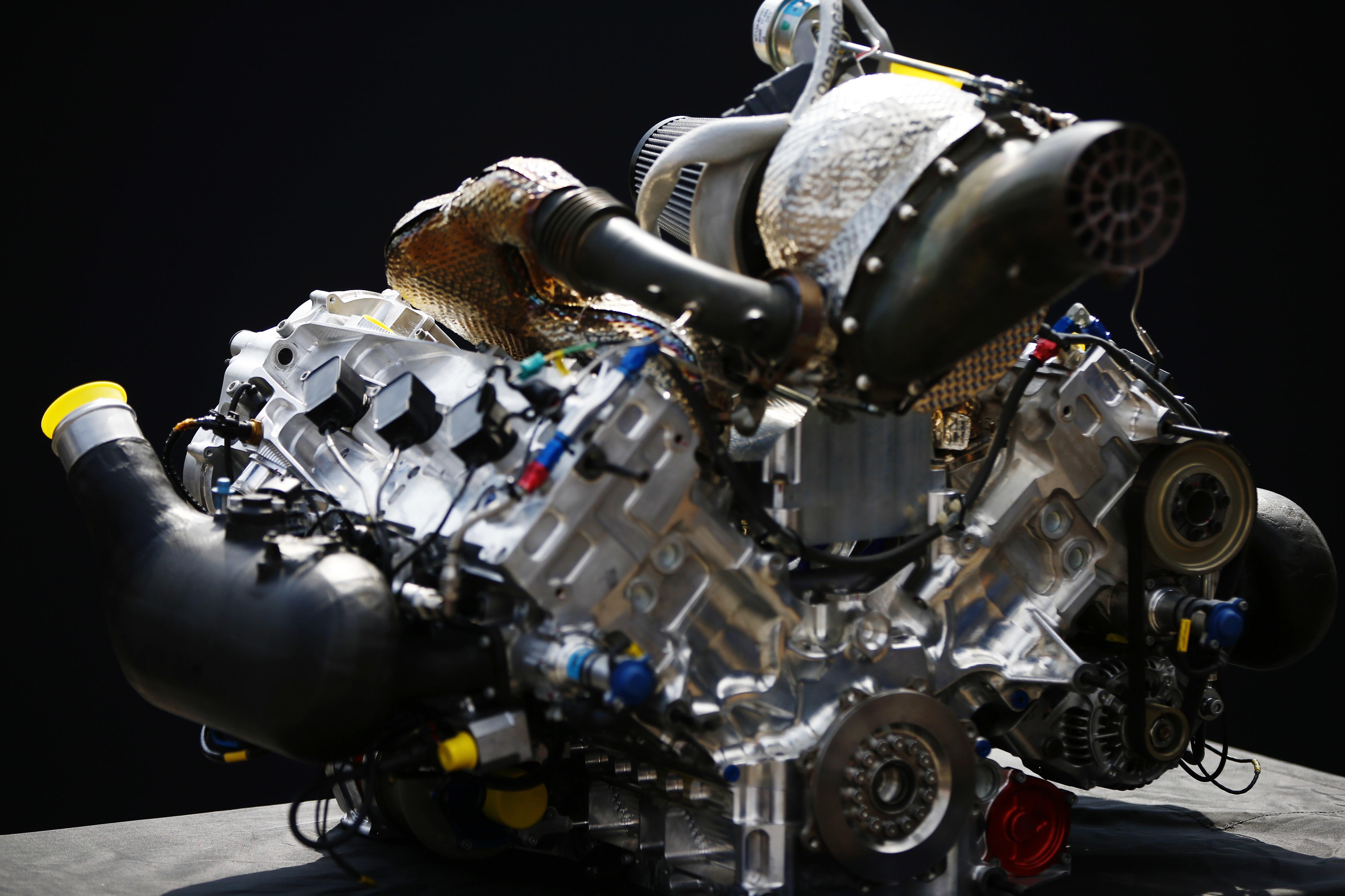 Motor Dallara F2 2018