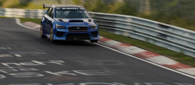 Subaru WRX STI Type RA NBR Special Record Nurburgring Lap