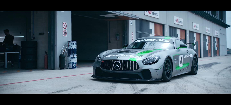 Mercedes-AMG GT4 video