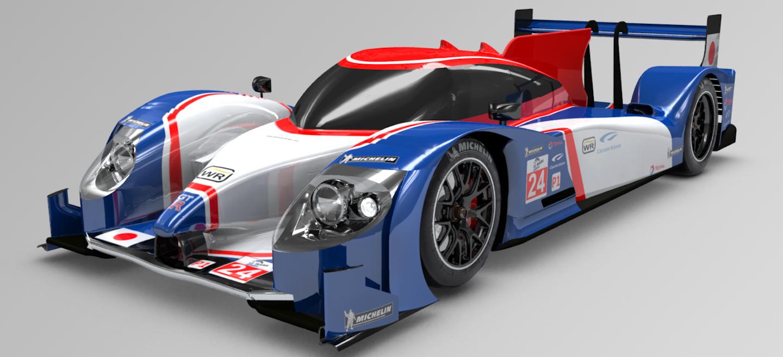 Wirth Nissan LMP1 2012