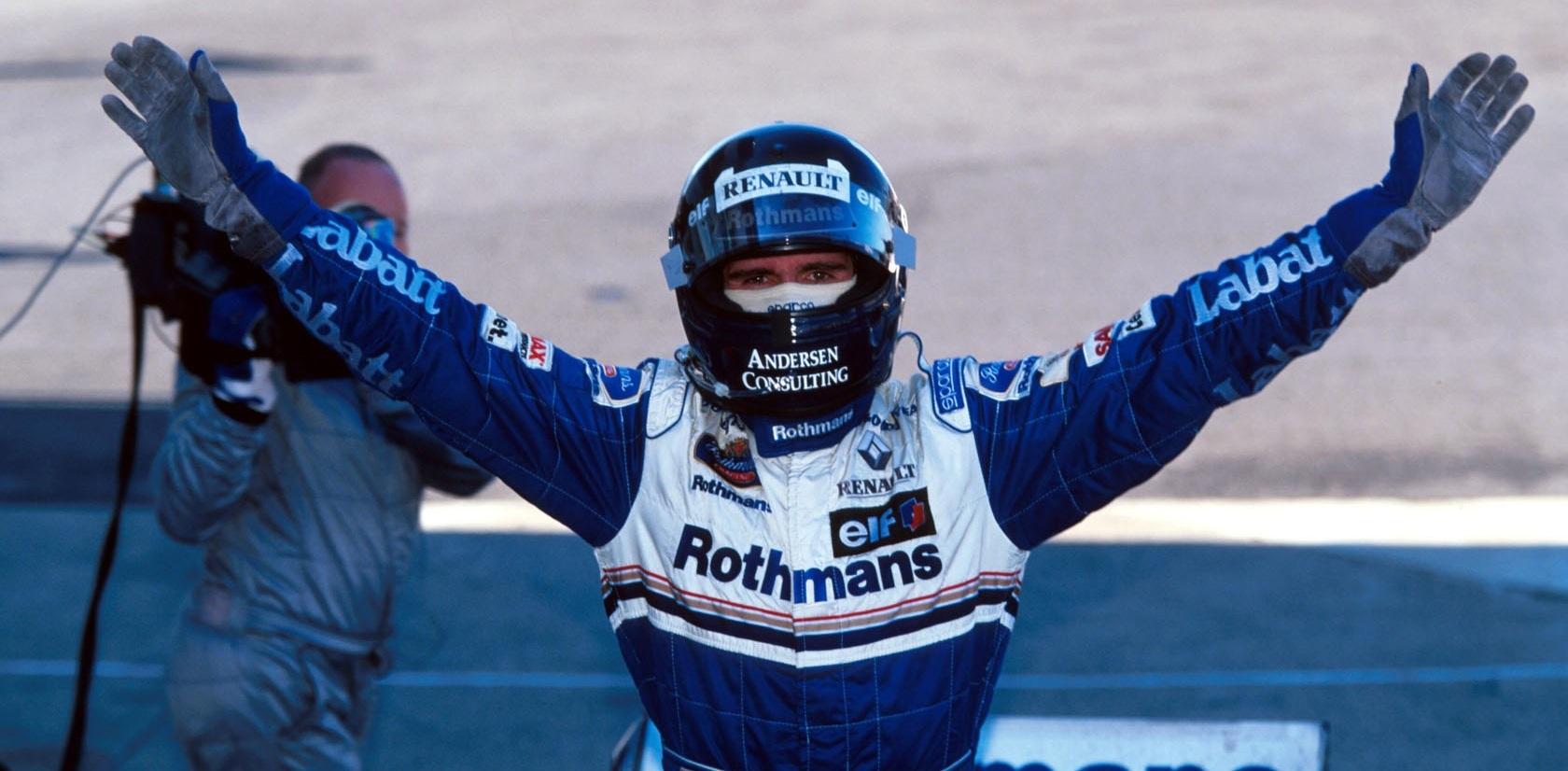 Damon Hill GP Japón 1996