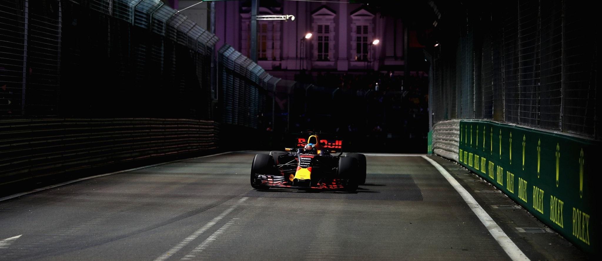 Daniel Ricciardo GP Singapur 2017 FP2