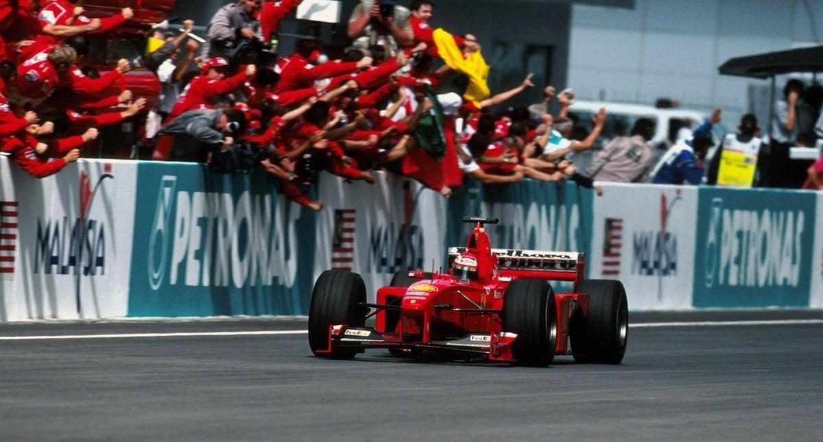Eddie Irvine GP Malasia 1999