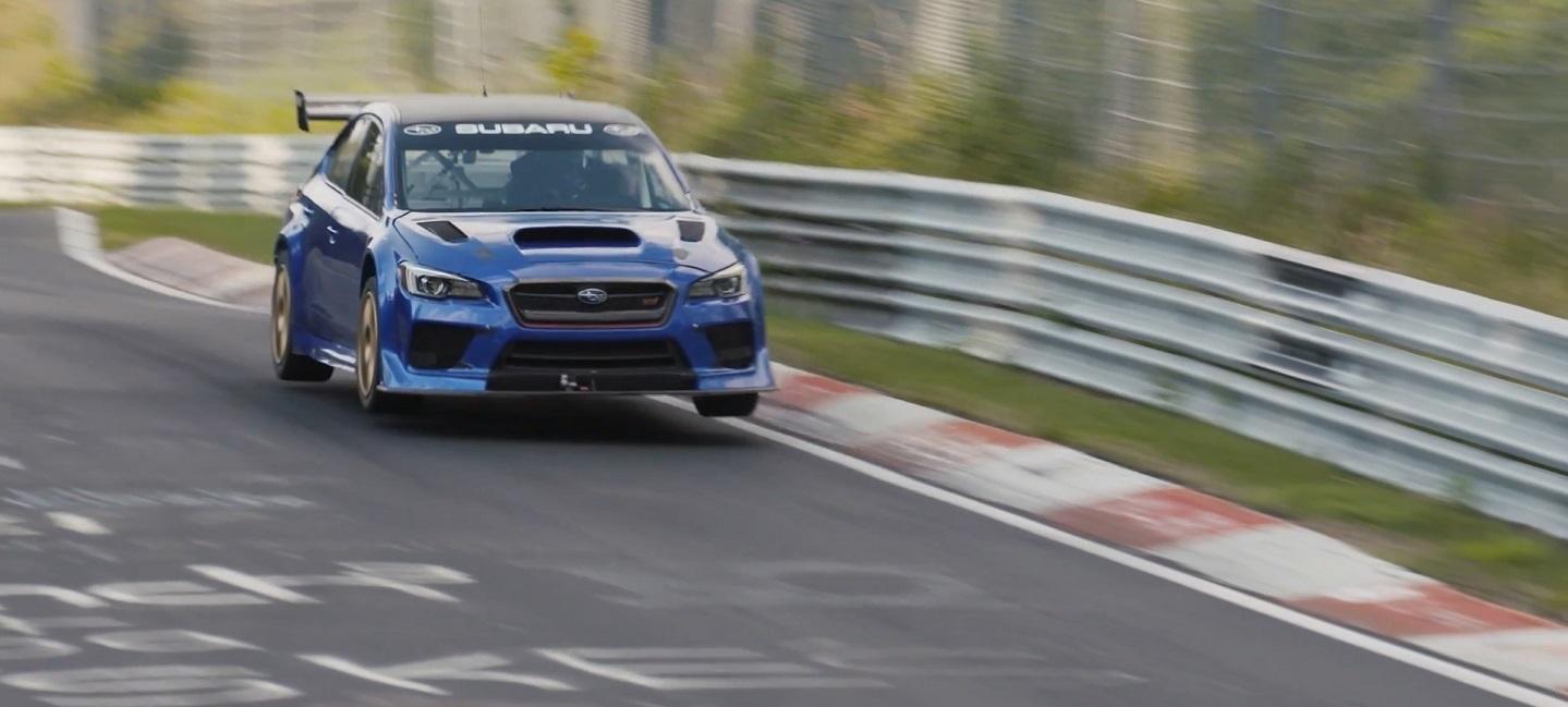 Flat Out Subaru WRX STI Type RA NBR Special Nurburgring