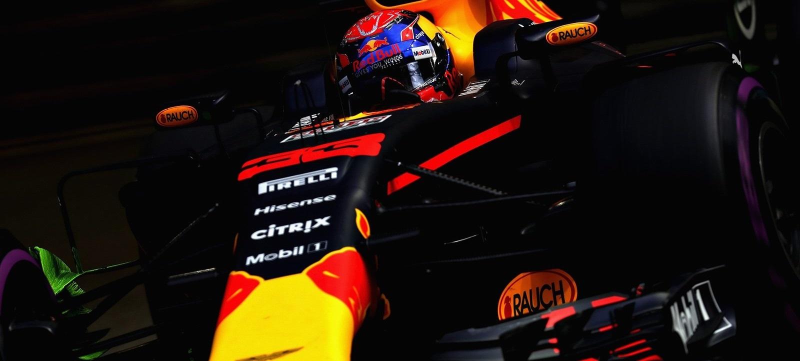 Max Verstappen GP Singapur 2017 Libres