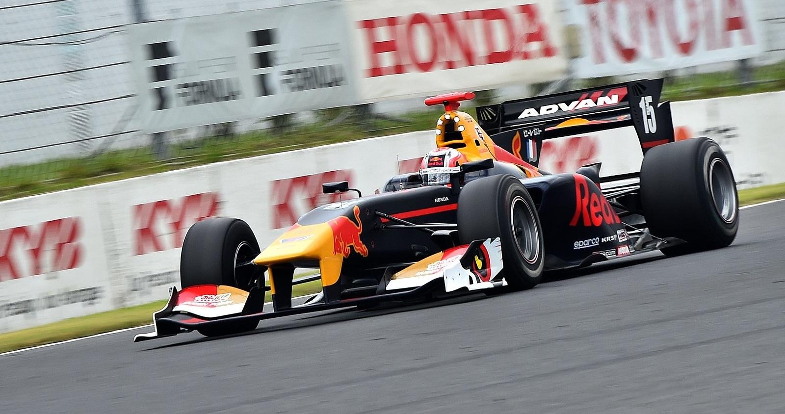 Pierre Gasly Super Fórmula 2017 Autopolis