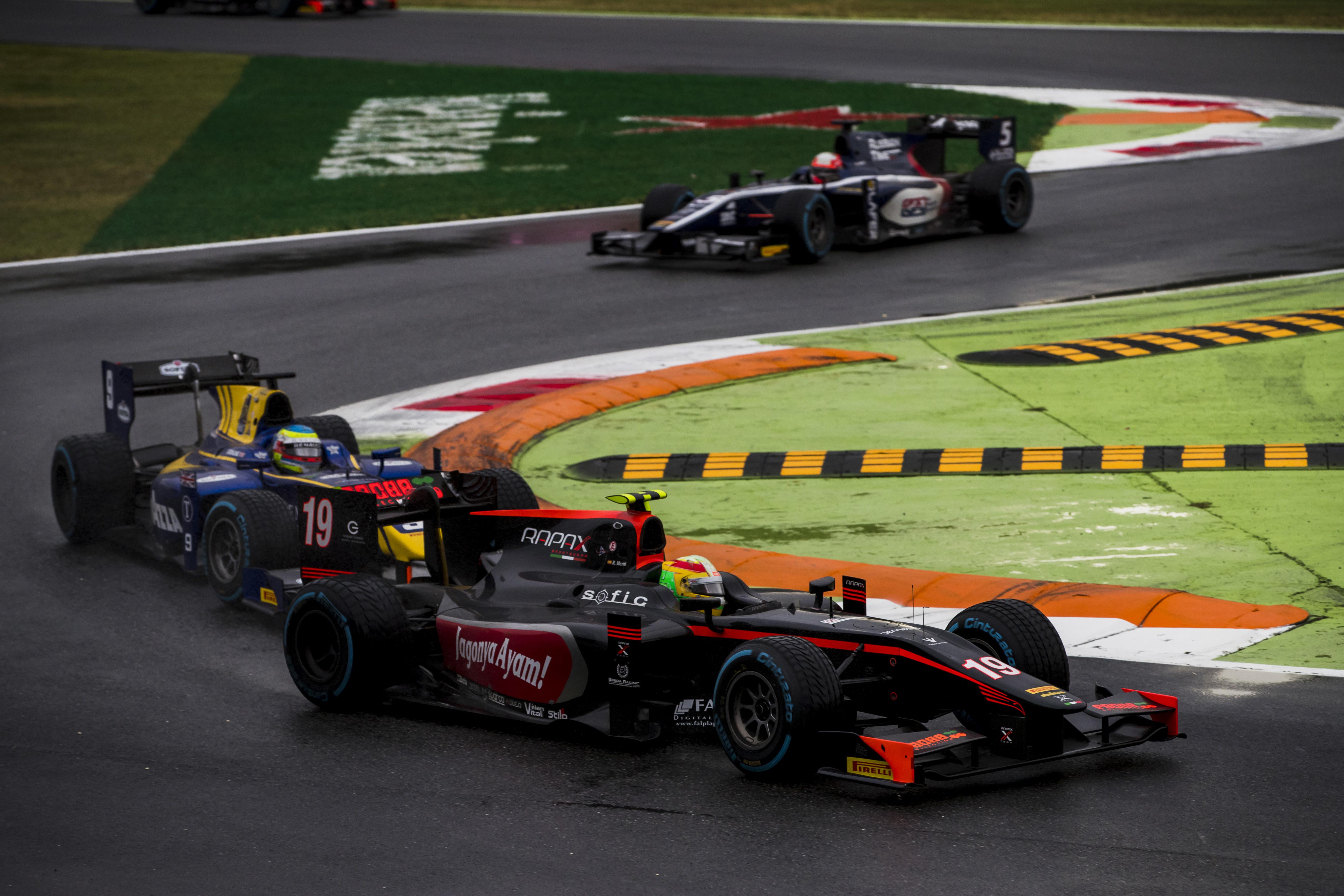 Roberto Merhi F2 Monza 2017
