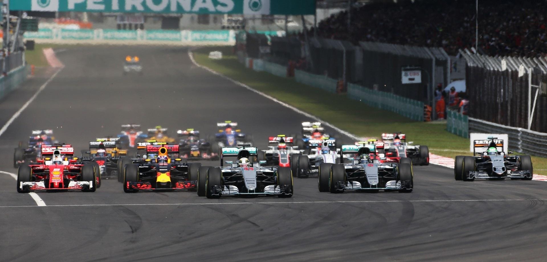 Salida GP Malasia 2016