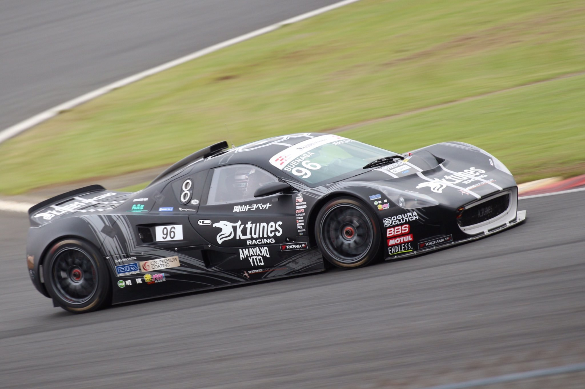Yuichi Nakayama Inter Proto Series 2017 Rd2