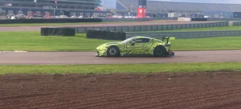 Aston Martin Vantage GTE camuflado 2018