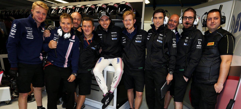 Pérez Force India renovación 2018