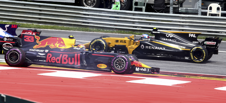 Red Bull Renault frente a frente