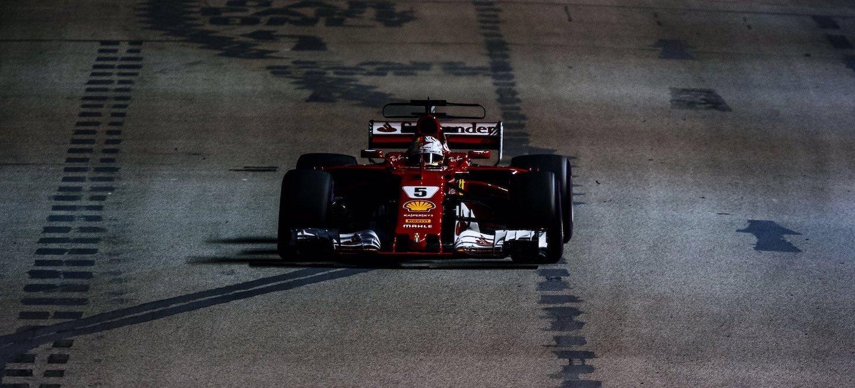 Vettel Singapur domingo 2017