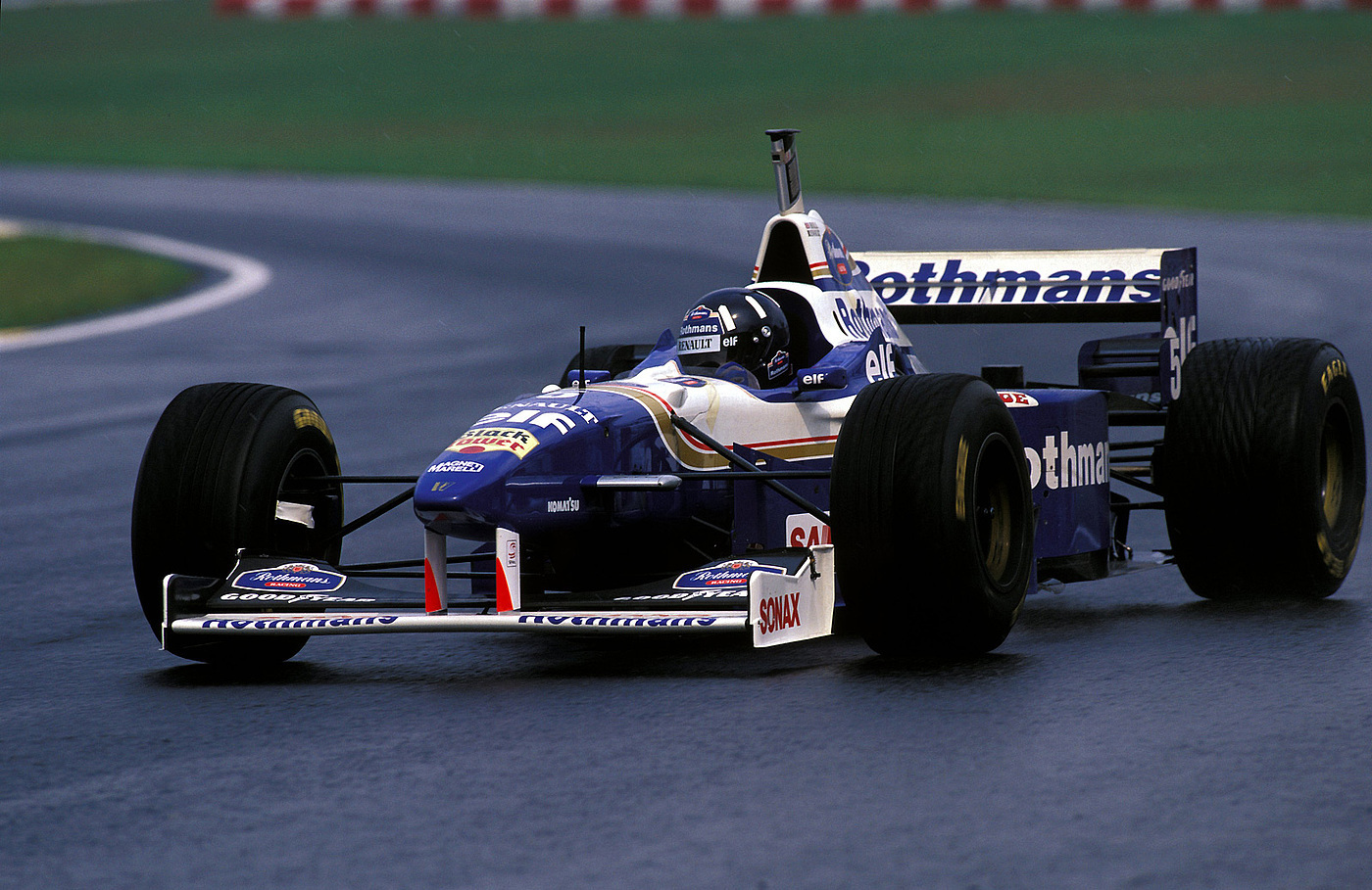 Damon Hill GP Brasil 1996