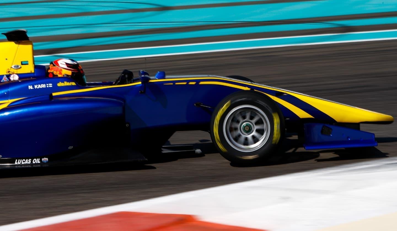 Niko Kari Abu Dhabi GP3 Test 2017 Día 1