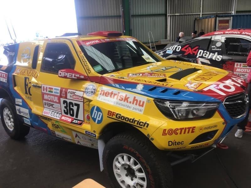 Opel Dakar 2018 Hungria
