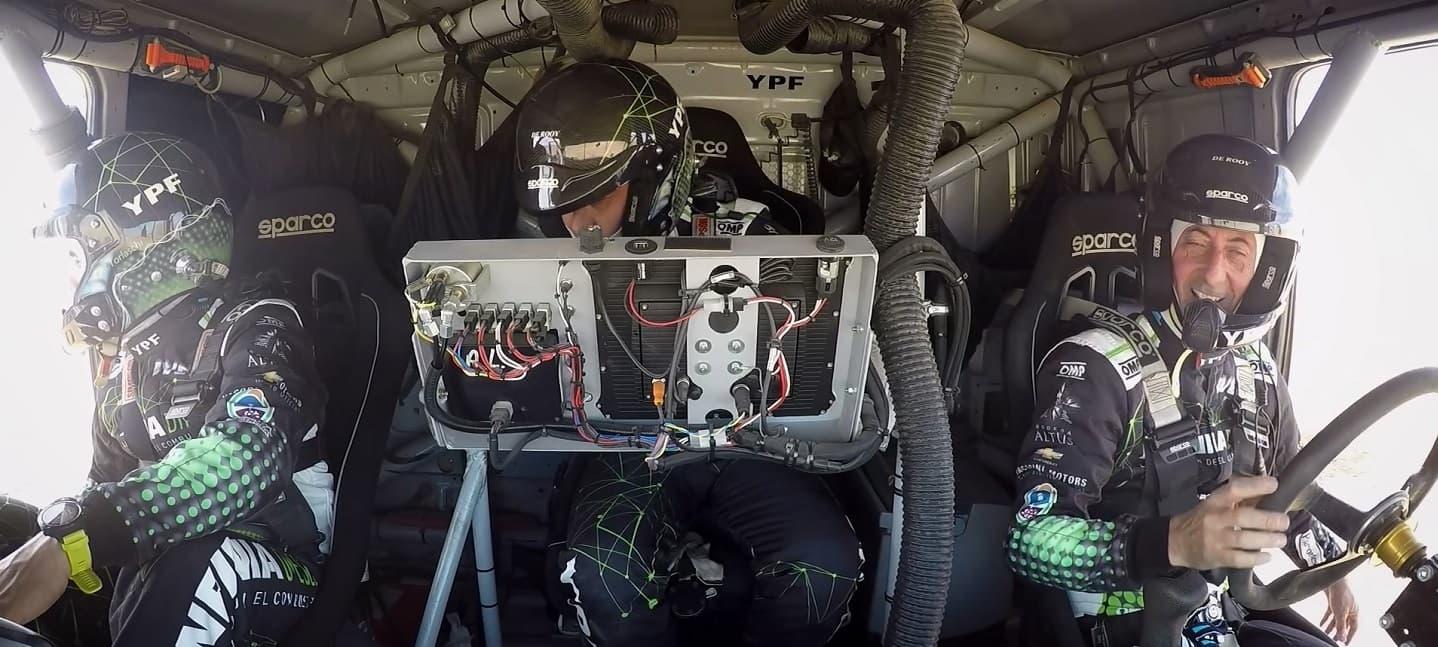 Equipo Infinia Diesel_ EL EQUIPO para el Dakar