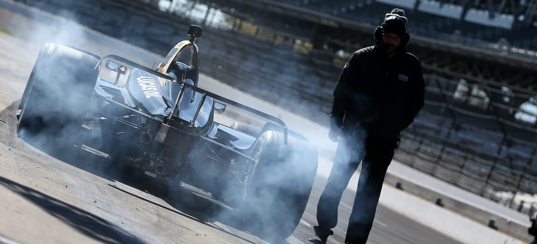 IndyCar test coche 2018 motorista