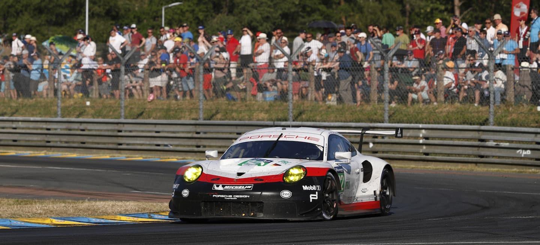 Porsche 911 GTE Le Mans 2017