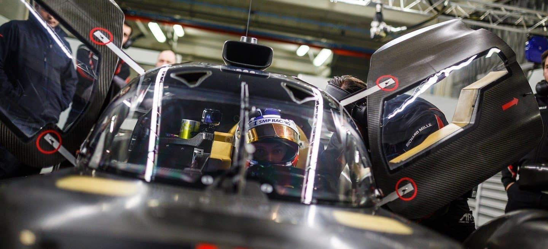 Sirotkin BR1 test diciembre 2017