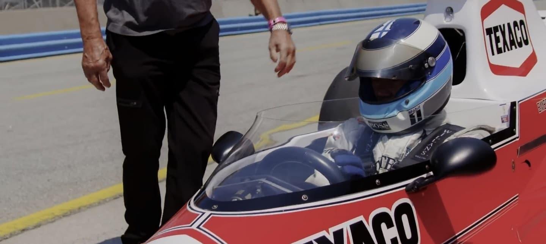 Mika Häkkinen tackles Laguna Seca M23