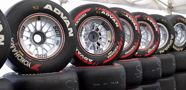 Neumáticos Yokohama Medios Blandos Super Fórmula 2017