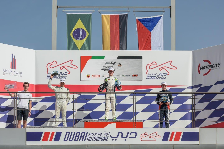 Podio F4 UAE Dubai 2018