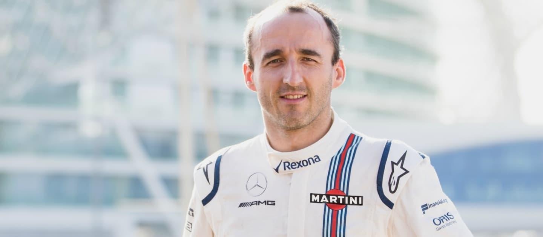 Robert Kubica Abu Dhabi Test Williams 2017
