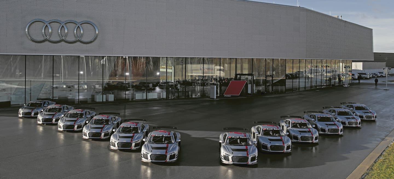 Audi R8 GT4 entrega 2017