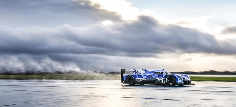 Ginetta LMP1 shakedown 2018