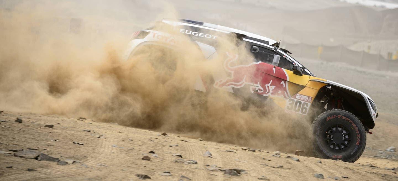 Peugeot 3008 DKR shakedown Dakar 2018