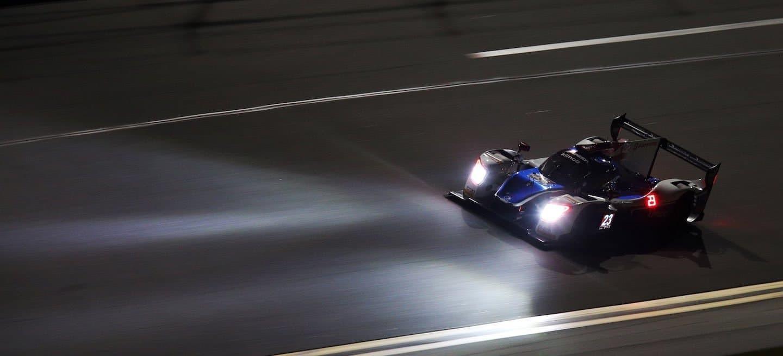 United Autosports noche entrenamientos Daytona 2018