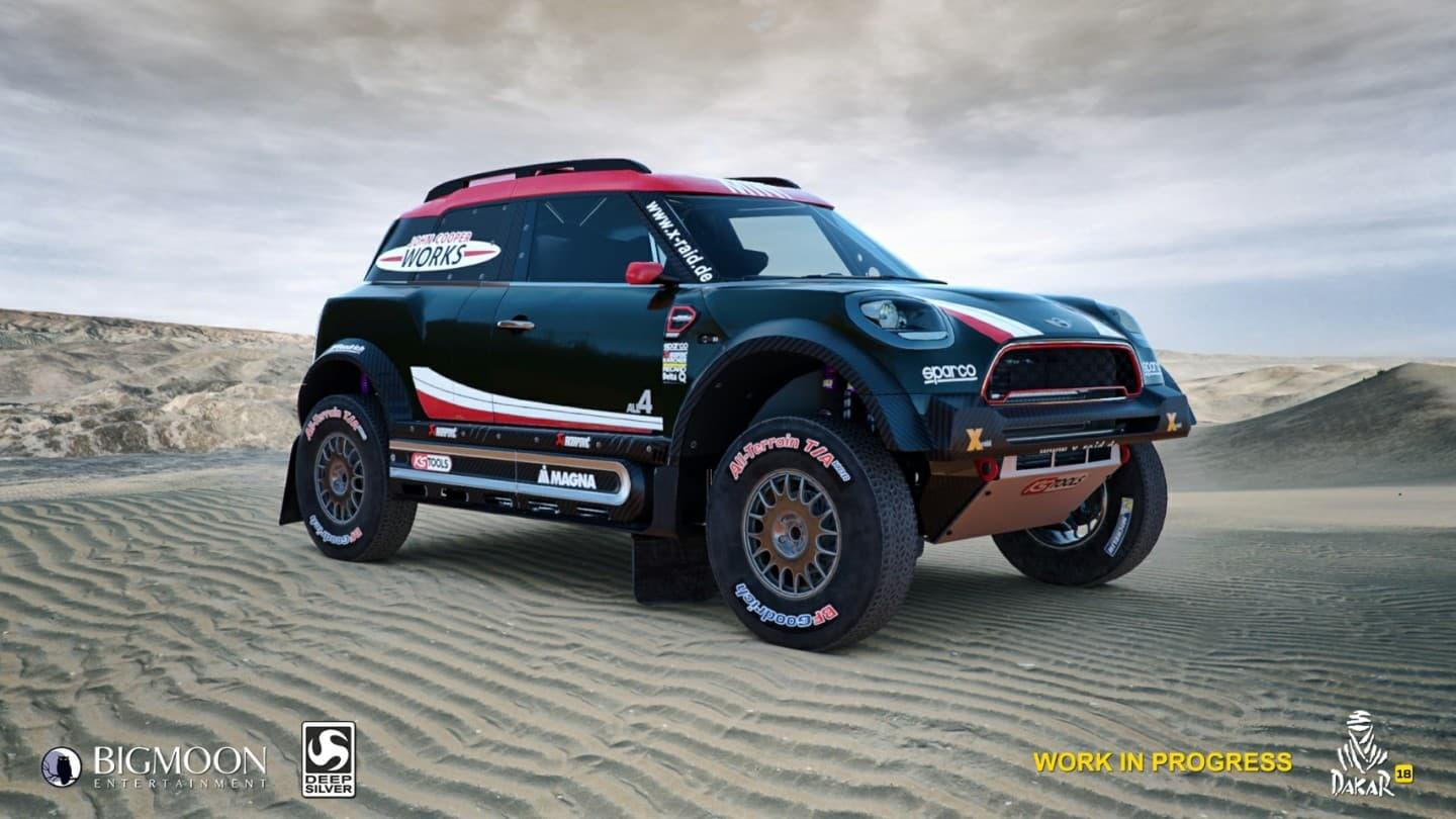 el videojuego oficial del dakar 2018 desempolvar antiguos veh culos y roadbooks foto 3 de 10. Black Bedroom Furniture Sets. Home Design Ideas