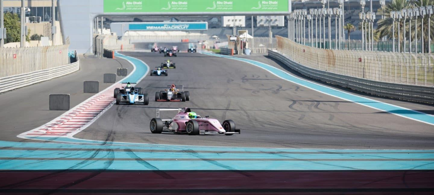 David Schumacher F4 UAE Yas Marina