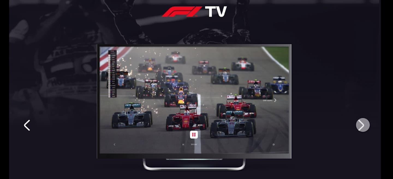 F1 TV streaming 2018