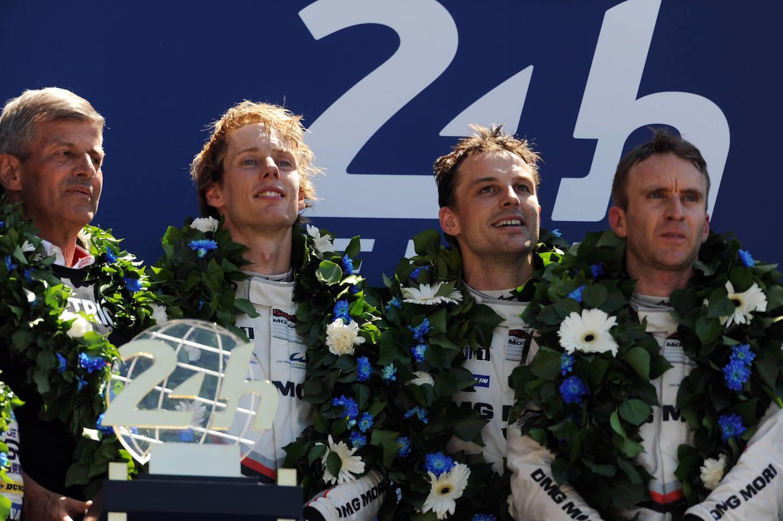 Hartley podio Le Mans 2017