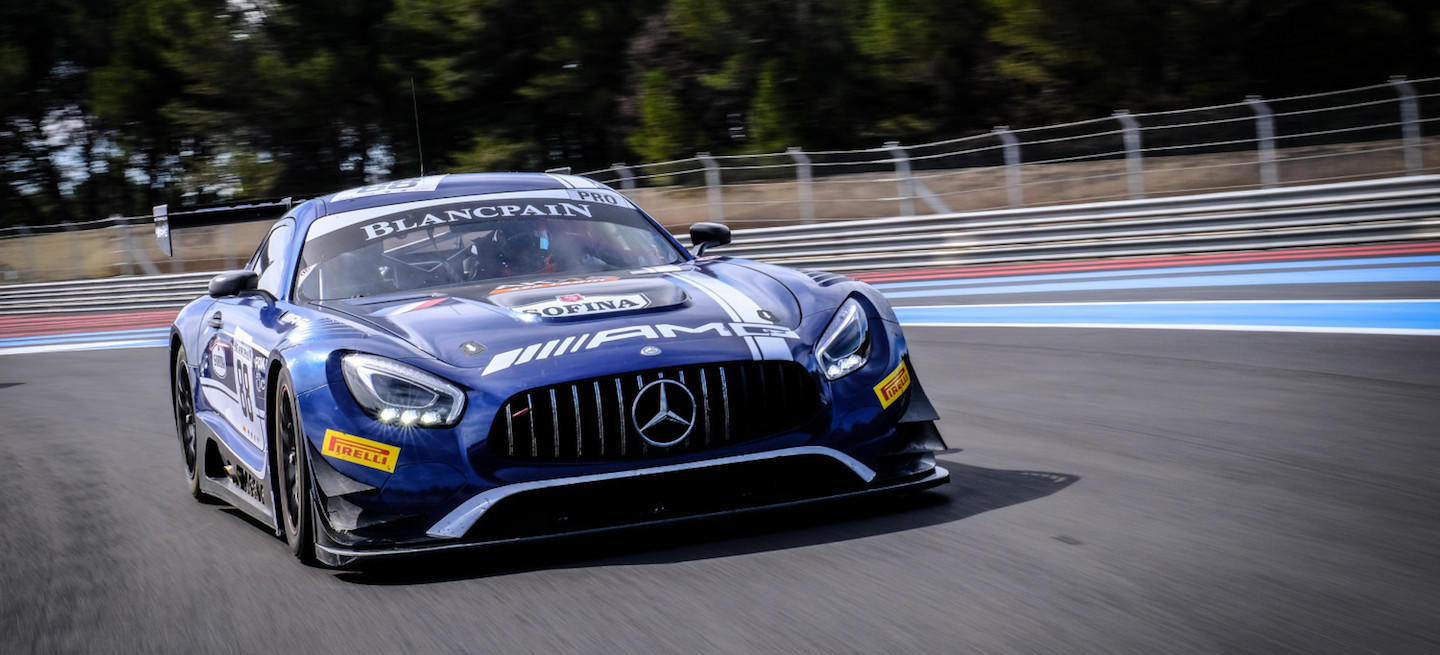 Mercedes-AMG test oficial Blancpain 2018