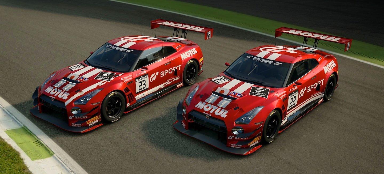 Nissan GT3 decos 2018