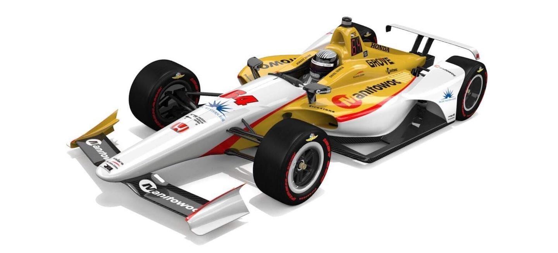 Servia Indy 500 2018 deco