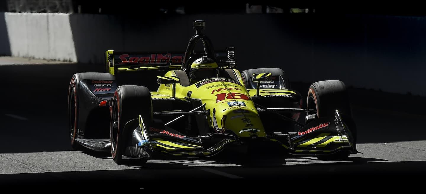 Bourdais Long Beach 2018