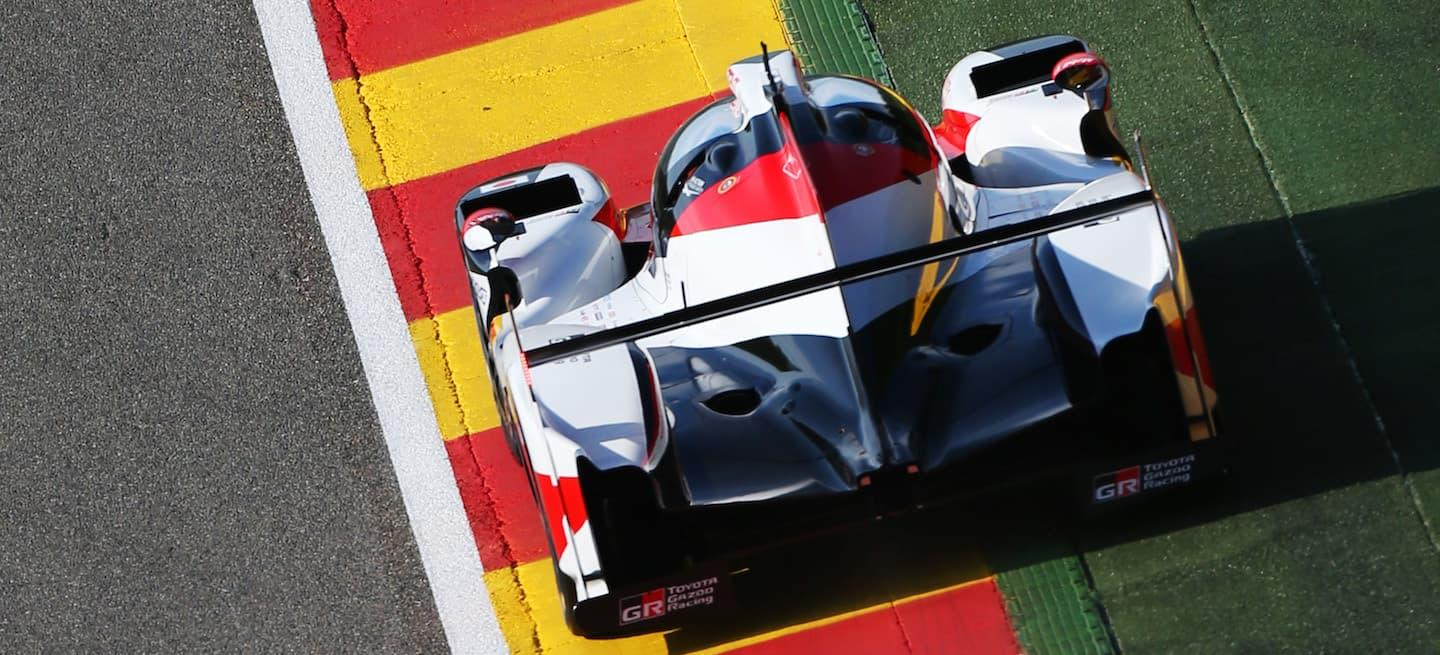 exclusion toyota ts050 spa 2018