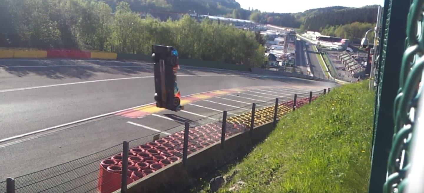 Isaakyan SMP Spa accidente 2018